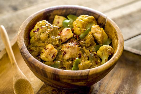 Spicy Harissa Chicken Curry